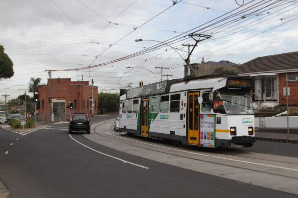 Z3.150 citybound on route 55 along Dawson Street in Brunswick West