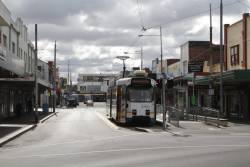 Z3.146 at the route 82 terminus in Footscray