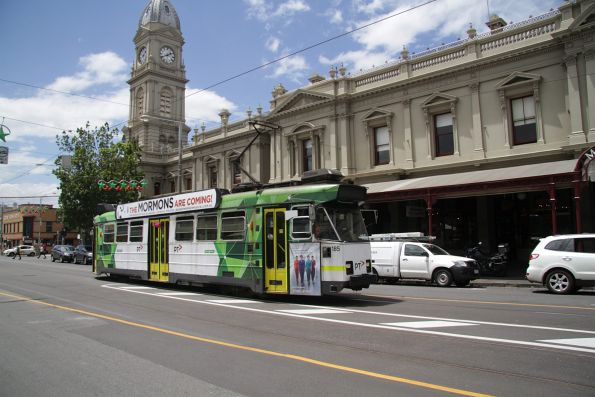Z3.185 southbound on route 57 along Errol Street