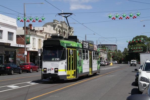 Z3.230 northbound on route 57 at Errol and Victoria Street