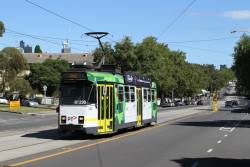 Z3.185 heads north on route 57 at Abbotsford and Erskine Street