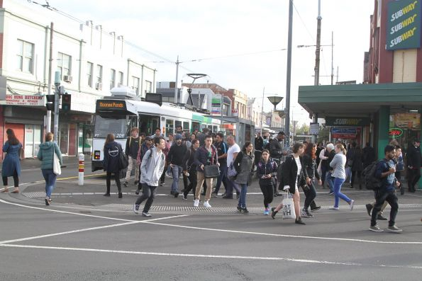 Z3.209 on route 82 at Footscray station