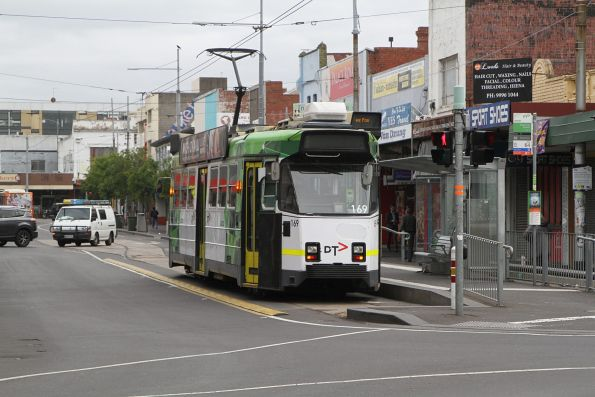 Z3.169 on route 82 at Footscray station