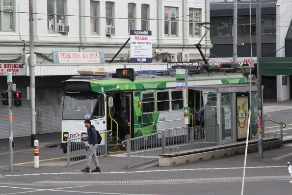 Z3.119 on route 82 at Footscray station