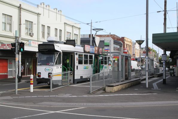 Z3.226 on route 82 at Footscray station