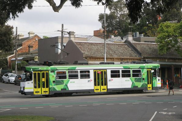 Z3.184 heads north on route 57 along Abbotsford Street