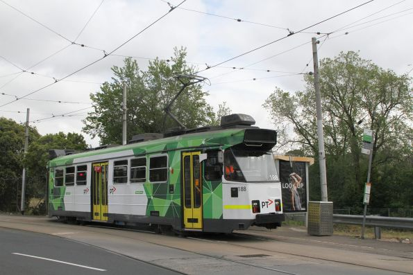 Z3.188 on route 57 along Raleigh Road, Maribyrnong