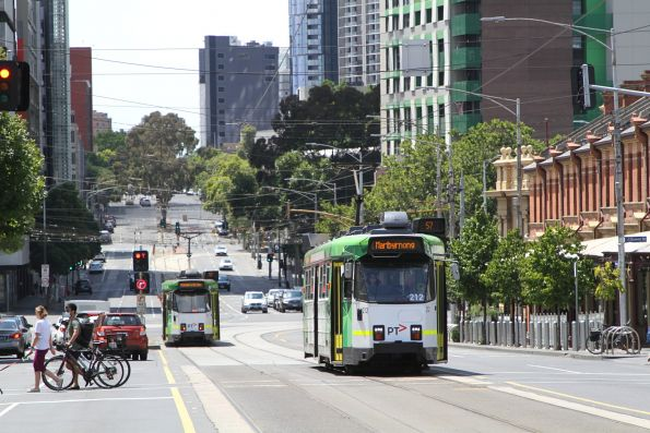 Z3.212 heads west on route 57 at Victoria and Peel Street