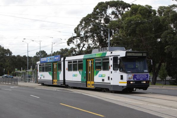 B2.2101 departs the East Coburg terminus with a route 1 service