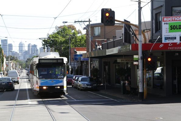 B2.2018 northbound on route 11 at St Georges Road and Holden Street