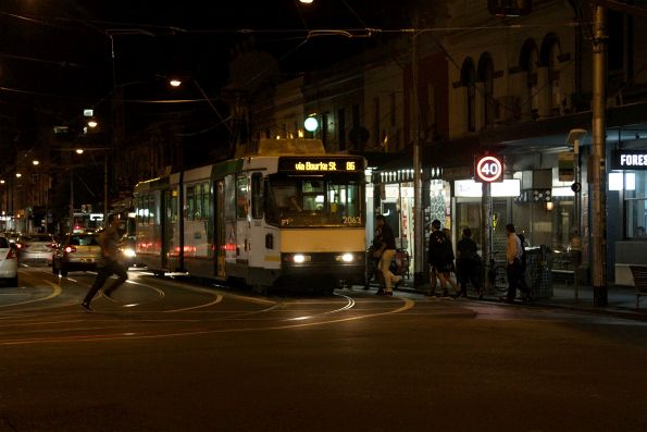 B2.2063 southbound on route 86 at Smith and Gertrude Street