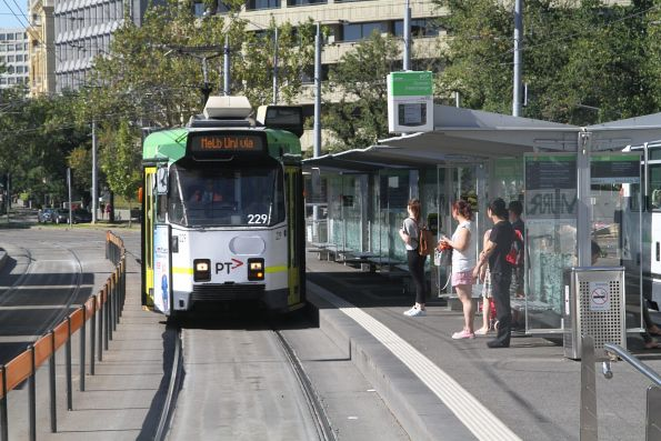Z3.229 heads north on route 6 at Domain Interchange