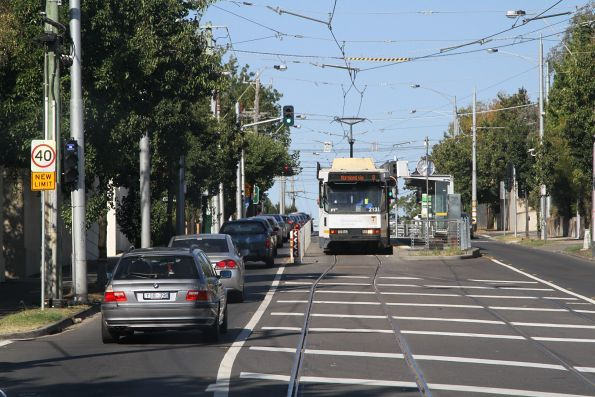 B2.2131 ready to depart the route 8 terminus at Toorak