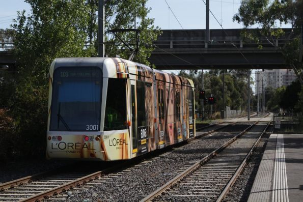 C.3001 departs Graham bound for Port Melbourne