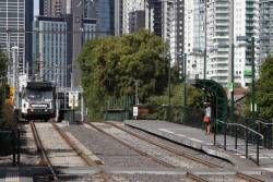 A1.243 shunts out of the south end of Southbank depot