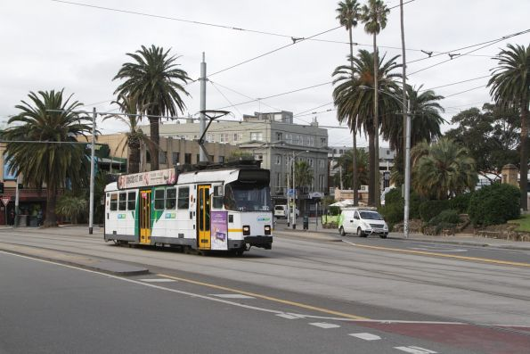 Z3.152 on route 16 at The Esplanade and Carlisle Street
