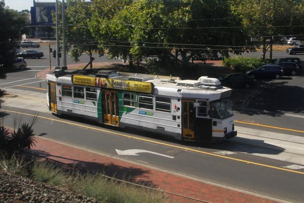 Z3.203 departs Caulfield on a citybound route 3 service