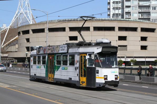 Z3.194 heads north on route 5 over Princes Bridge