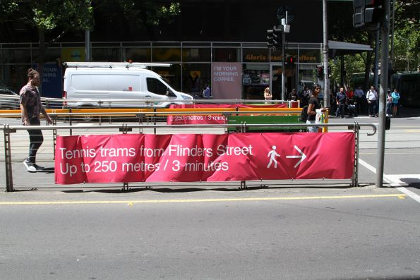 Yarra Trams - tennis specials