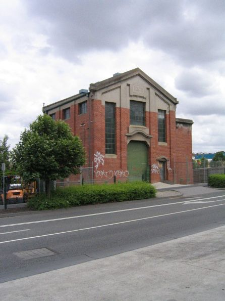 Substation 'Cw' located off track on Station Street, behind Burke Road at Camberwell Junction