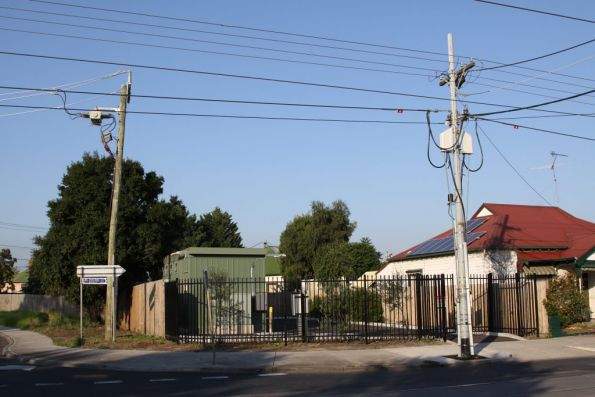 Substation 'Fo' at Ballarat Road and Droop Street, Footscray