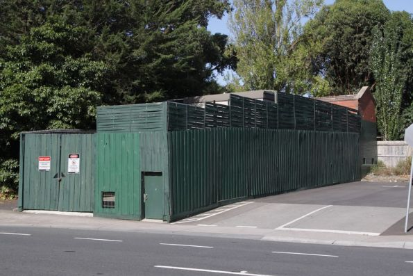 Substation 'Bx' located off track on Union Road, Surrey Hills