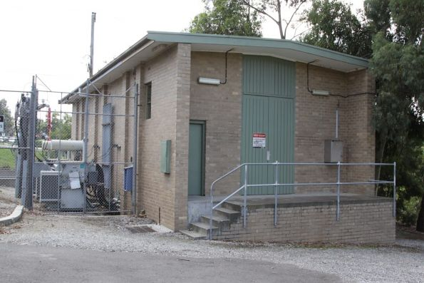 Substation 'Bd' outside view