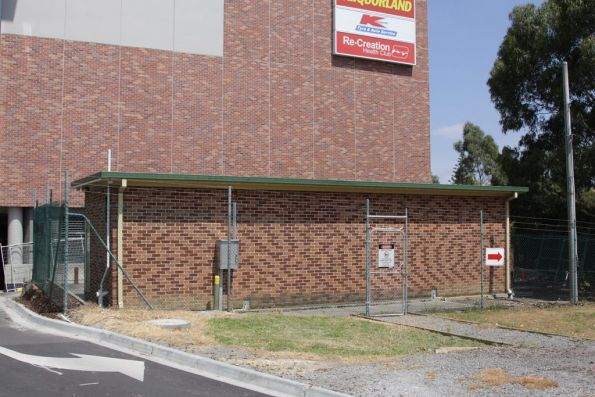 Substation 'Eb' on Burwood Highway: another 1990s prefabricated structure