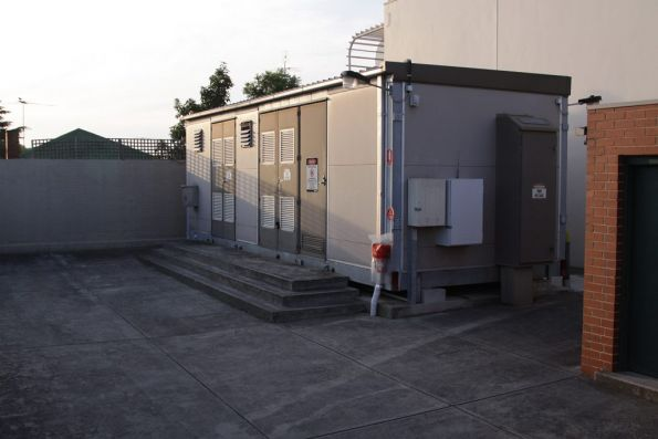 Substation 'Wx' - a different style of prefabricated building houses everything