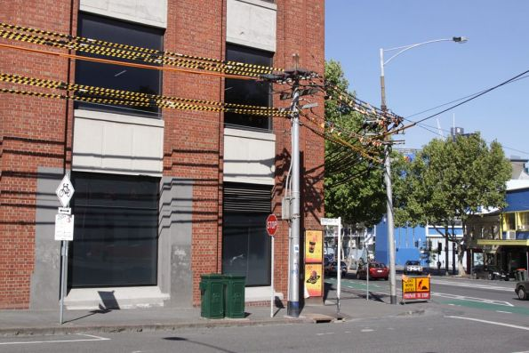 Substation 'C' - traction feeders along Berkeley Street at Queensberry Street