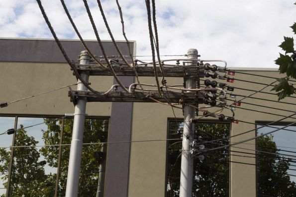 Substation 'F' traction feeders along George Street