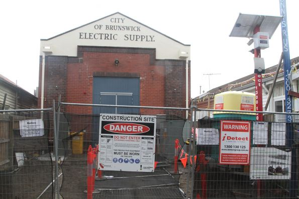 Substation 'LY' on Brunswick Road, reusing the former City of Brunswick Electricity Supply building