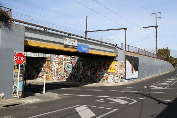 Melbourne transport murals