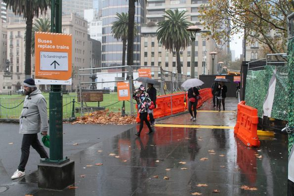 Macarthur Street exit to Parliament station finally reopened