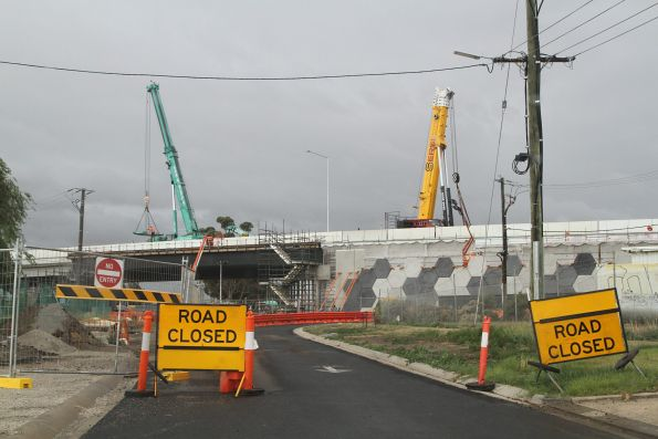 Melton Highway level crossing removal project