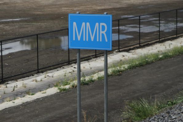 'MMR' location board for Middle Gorge station
