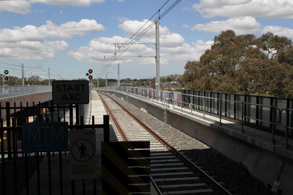Up end of Mernda station