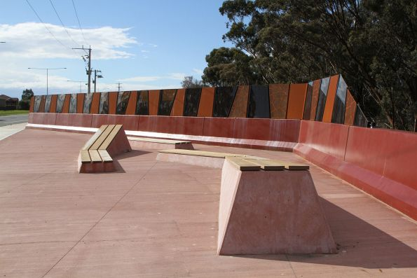 Public space atop the Plenty Road tunnel