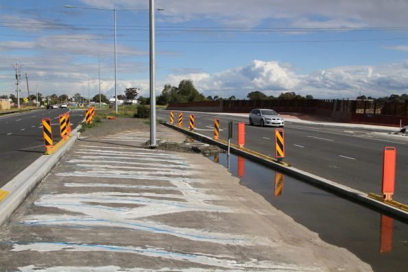 Remediation work underway on the Plenty Road tunnel roof