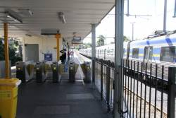 Metcard ticket barriers at Glen Waverley station