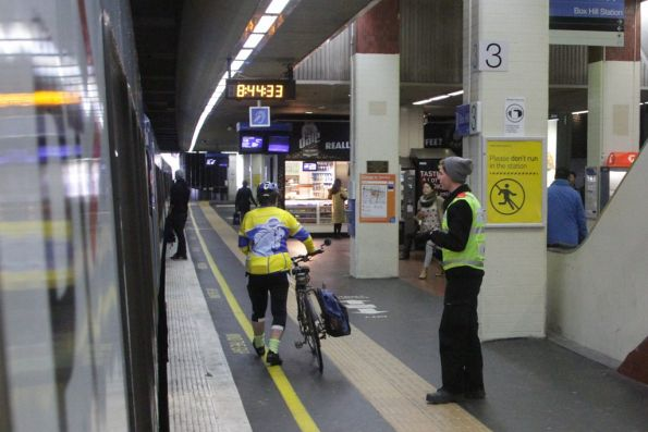 Metro Trains Melbourne first aiders