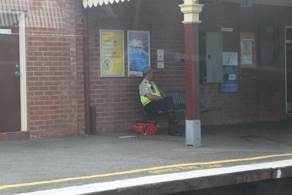 First aider posted at Clifton Hill station for morning peak