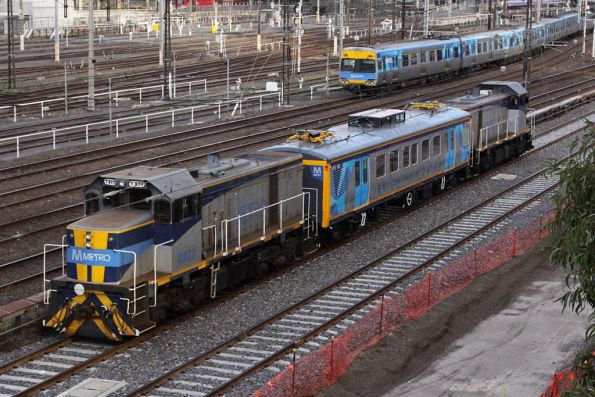 Metro Trains Melbourne - Infrastructure Evaluation Vehicle IEV102