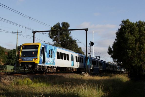 X'Trapolis 23M on the up outside Ferntree Gully
