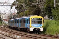Siemens on the up just outside Toorak