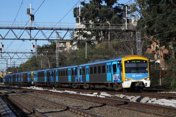 Siemens on the up at South Yarra