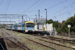 Siemens waiting to depart Frankston platform 2