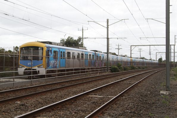 Siemens train 832M stabled at Carrum