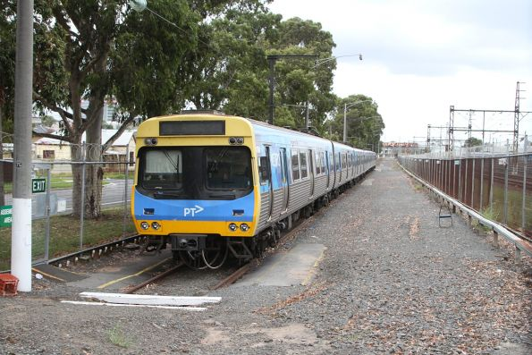 Stabled Comeng train in siding 1 at Dandenong
