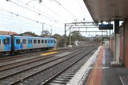 Frankston platform 3 for Stony Point line trains